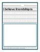 Sentence Starters Packet