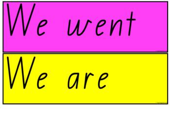 Sentence Starters - Queensland Beginners Font