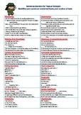 Sentence Starters, Textual Analysis, Muletillas, Spanish, Reader Response