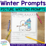 Winter Picture Writing Prompts With Sentence Starters