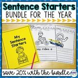 Sentence Starters Writing Prompts Bundle
