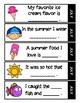 Sentence Starters for Primary Writers