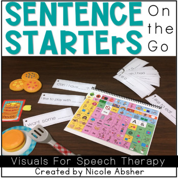 Sentence Starters for Speech and Language Therapy