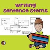 Sentence Stems for Kindergarten and First Grade
