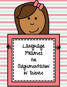 Language Frames for Argumentation in Science