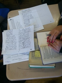 Student Guide: Writing About Literary Elements & Devices