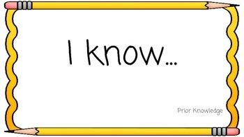 Sentence Stems for Student Success