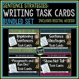 Sentence Writing Task Cards Bundle | Distance Learning