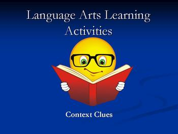 Language Arts Activity: Context Clues/Sentence Strategy Scamble & Marzano