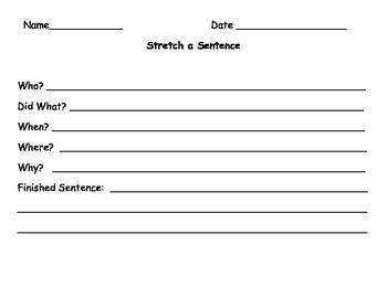 Sentence Stretch