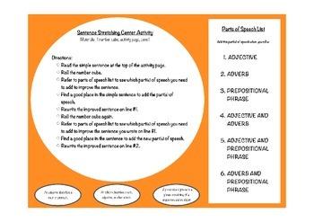 Sentence Stretch - Parts of Speech