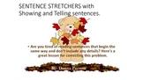 Sentence Stretchers