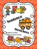 Fall Sentence Building (Hochman Writing Inspired)