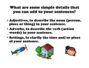 Sentence Stretchers for Grades 2-4