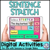 Sentence Stretching Digital | Distance Learning