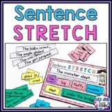 Sentence Building Activity {Sentence Stretching}
