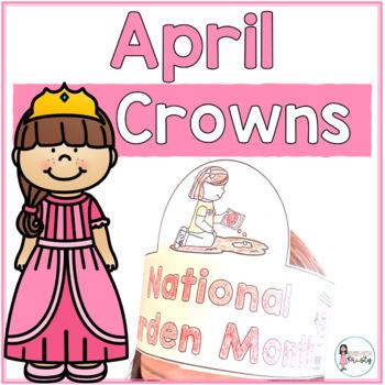 Sentence Strip Crowns_April
