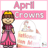 Sentence Strip Crowns_April