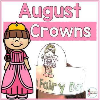 Sentence Strip Crowns_August