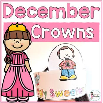 Sentence Strip Crowns_December