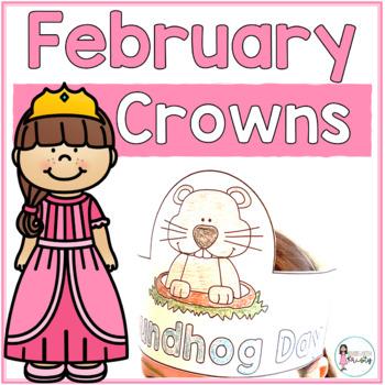 Sentence Strip Crowns_February