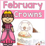 Sentence Strip Crowns_February