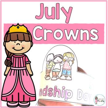 Sentence Strip Crowns_July