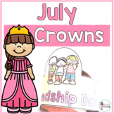 Sentence Strip Crowns_July