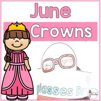 Sentence Strip Crowns_June