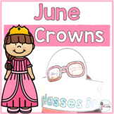 Sentence Strip Crowns_June