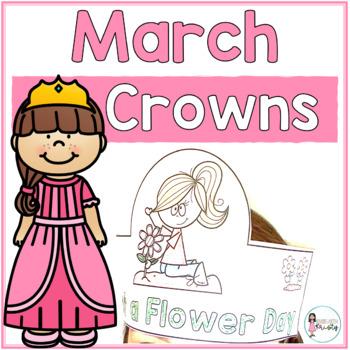 Sentence Strip Crowns_March