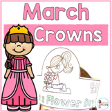 Sentence Strip Crowns_March