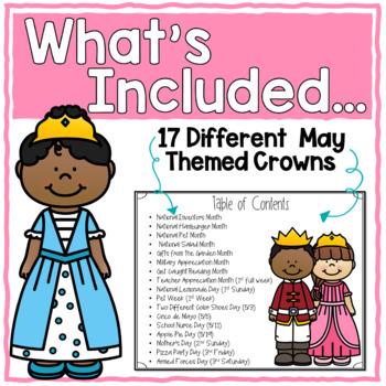 Sentence Strip Crowns_May