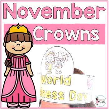 Sentence Strip Crowns_November
