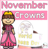 Sentence Strip Crowns_November