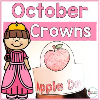 Sentence Strip Crowns_October