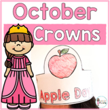 Sentence Strip Crowns_October