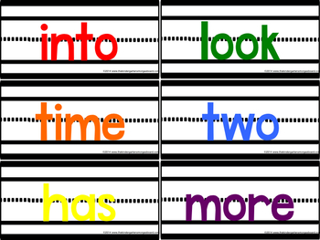 Sentence Strip Sight Words!
