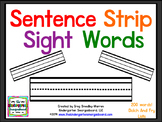 Sentence Strip Sight Words!