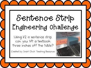 Sentence Strips: Engineering Challenge Project ~ Great STE