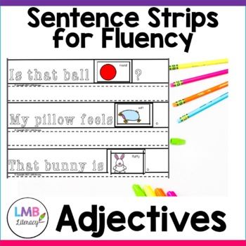 Parts of Speech Activity-Adjectives-Sentence Strips