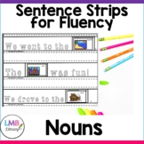 Parts of Speech Activities-Nouns Sentence Strips