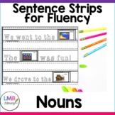 Parts of Speech Activities-Nouns-Sentence Strips