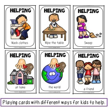 Sentence Starters and Picture Cards