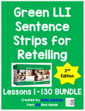 Green LLI 2nd Edition Sentence Strips for Retelling BUNDLE