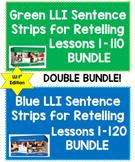 [DOUBLE BUNDLE] GREEN (1st Ed.) & BLUE Kits Sentence Strips for Retelling