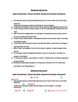 Sentence Structure 3
