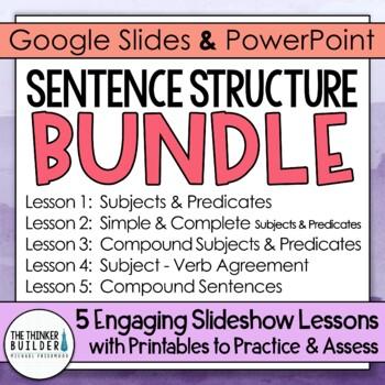 Sentence Structure {5 Lesson BUNDLE}