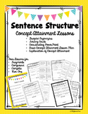 Sentence Structure -  A Concept Attainment Mini Bundle