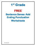 Sentence Structure: Add Ending Punctuation
